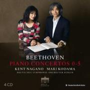 Cover-Bild zu Nagano, Kent: Beethoven:Piano Concerts 0-5