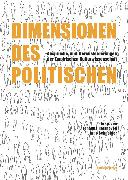 Cover-Bild zu Sutter, Ove: Dimensionen des Politischen (eBook)