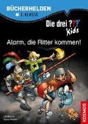Cover-Bild zu Blanck, Ulf: Die drei ??? Kids, Bücherhelden 2. Klasse, Alarm, die Ritter kommen!