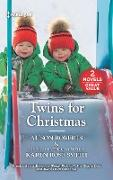 Cover-Bild zu Roberts, Alison: Twins For Christmas/Sleigh Ride with the Single Dad/Twins Under His (eBook)