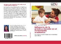 Cover-Bild zu Zuluaga Campiño, Martha Liliana: Influencia de la práctica docente en el rendimiento académico