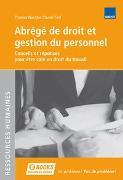 Cover-Bild zu Cerf, Daniel: Abrégé de droit et gestion du personnel