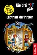 Cover-Bild zu Blanck, Ulf: Die drei ??? Kids und du, Labyrinth der Piraten