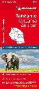 Cover-Bild zu Tanzanie-Zanzibar. 1:1'300'000