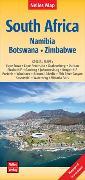 Cover-Bild zu Nelles Verlag (Hrsg.): Nelles Map Landkarte South Africa : South Africa, Namibia, Botswana, Zimbabwe | Südafrika | Afrique du Sud | África del Sur. 1:2'500'000