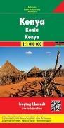Cover-Bild zu Freytag-Berndt und Artaria KG (Hrsg.): Kenya. 1:1'000'000