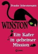 Cover-Bild zu Scheunemann, Frauke: Winston (Band 1) - Ein Kater in geheimer Mission