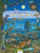 Cover-Bild zu Henkel, Christine (Illustr.): Mein erstes Wimmelbuch: Tiere in der Nacht