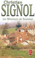 Cover-Bild zu Signol, Christian: Les Messieurs de Grandval