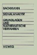 Cover-Bild zu Bachmann, Wolfgang: Signalanalyse (eBook)