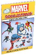 Cover-Bild zu Behling, Steve: Marvel Sticker Art Puzzles