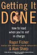 Cover-Bild zu Fisher, Roger: Getting It Done