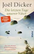 Cover-Bild zu Dicker, Joël: Die letzten Tage unserer Väter (eBook)
