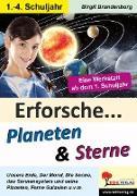 Cover-Bild zu Theuer, Barbara: Erforsche ... Planeten & Sterne (eBook)
