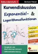 Cover-Bild zu Theuer, Barbara: Kurvendiskussion / Exponential- & Logarithmusfunktionen (eBook)