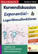 Cover-Bild zu Theuer, Barbara: Kurvendiskussion / Exponential- & Logarithmusfunktionen