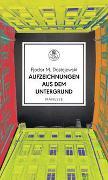 Cover-Bild zu Dostojewski, Fjodor M.: Aufzeichnungen aus dem Untergrund