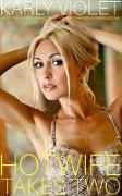 Cover-Bild zu Violet, Karly: Hotwife Takes Two - A Hot Wife Multiple Partner M F M Wife Sharing Romance Novel (eBook)