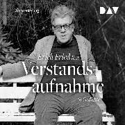 Cover-Bild zu Fried, Erich: Verstandsaufnahme. 61 Gedichte (Audio Download)