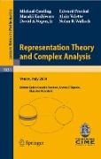 Cover-Bild zu Cowling, Michael: Representation Theory and Complex Analysis (eBook)