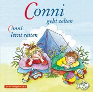 Cover-Bild zu Conni geht zelten / Conni lernt reiten