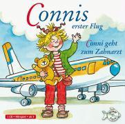 Cover-Bild zu Connis erster Flug / Conni geht zum Zahnarzt