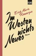 Cover-Bild zu Remarque, E.M.: Im Westen nichts Neues