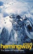 Cover-Bild zu Hemingway, Ernest: The Snows Of Kilimanjaro And Other Stories