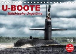 Cover-Bild zu Stanzer, Elisabeth: U-Boote. Militärische Ungetüme (Tischkalender 2022 DIN A5 quer)