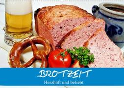 Cover-Bild zu Stanzer, Elisabeth: Brotzeit. Herzhaft und beliebt (Wandkalender 2022 DIN A2 quer)