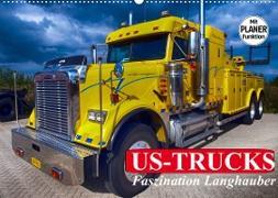 Cover-Bild zu Stanzer, Elisabeth: US-Trucks. Faszination Langhauber (Wandkalender 2022 DIN A2 quer)
