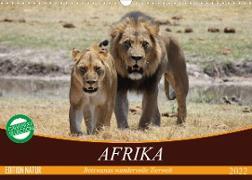 Cover-Bild zu Stanzer, Elisabeth: Afrika. Botswanas wundervolle Tierwelt (Wandkalender 2022 DIN A3 quer)
