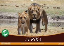 Cover-Bild zu Stanzer, Elisabeth: Afrika. Botswanas wundervolle Tierwelt (Wandkalender 2022 DIN A2 quer)