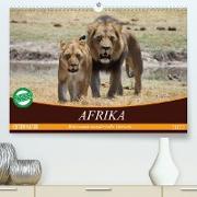 Cover-Bild zu Stanzer, Elisabeth: Afrika. Botswanas wundervolle Tierwelt (Premium, hochwertiger DIN A2 Wandkalender 2022, Kunstdruck in Hochglanz)