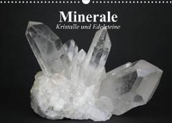 Cover-Bild zu Stanzer, Elisabeth: Minerale. Kristalle und Edelsteine (Wandkalender 2022 DIN A3 quer)