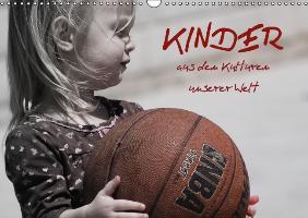 Cover-Bild zu Stanzer, Elisabeth: Kinder aus den Kulturen unserer Welt (Wandkalender immerwährend DIN A3 quer)