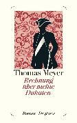 Cover-Bild zu Meyer, Thomas: Rechnung über meine Dukaten