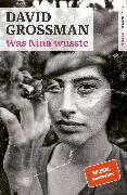 Cover-Bild zu Grossman, David: Was Nina wusste (eBook)