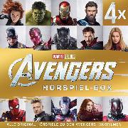 Cover-Bild zu Bingenheimer, Gabriele: MARVEL Avengers - The Avengers Hörspiel-Box (Audio Download)