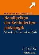 Cover-Bild zu Antor, Georg (Hrsg.): Handlexikon der Behindertenpädagogik (eBook)
