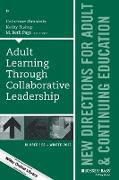 Cover-Bild zu Etmanski, Catherine (Hrsg.): Adult Learning Through Collaborative Leadership