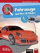Cover-Bild zu Leselauscher Wissen: Fahrzeuge und ihre Erfinder (inkl. CD&Bastelbogen) von Willems-van der Gieth, Sandy