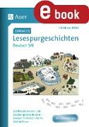 Cover-Bild zu Einfache Lesespurgeschichten Deutsch 5-6 (eBook) von Bößel, Christiane