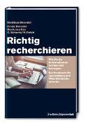 Cover-Bild zu Brendel, Matthias: Richtig recherchieren