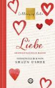 Cover-Bild zu Liebe - Letters of Note (eBook) von Usher, Shaun (Hrsg.)