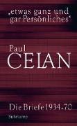 Cover-Bild zu »etwas ganz und gar Persönliches« (eBook) von Celan, Paul