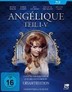 Cover-Bild zu Michele Mercier (Schausp.): Angelique I-V - Gesamtedition