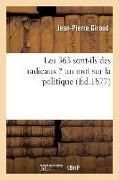 Cover-Bild zu Giraud, Jean-Pierre: Les 363 Sont-Ils Des Radicaux ? Un Mot Sur La Politique