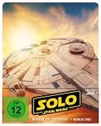 Cover-Bild zu Solo - A Star Wars Story - 3D+2D - Steelbook von Howard, Ron (Reg.)
