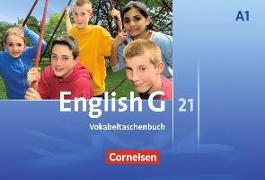 Cover-Bild zu English G 21. Ausgabe A1. Vokabeltaschenbuch von Tröger, Uwe